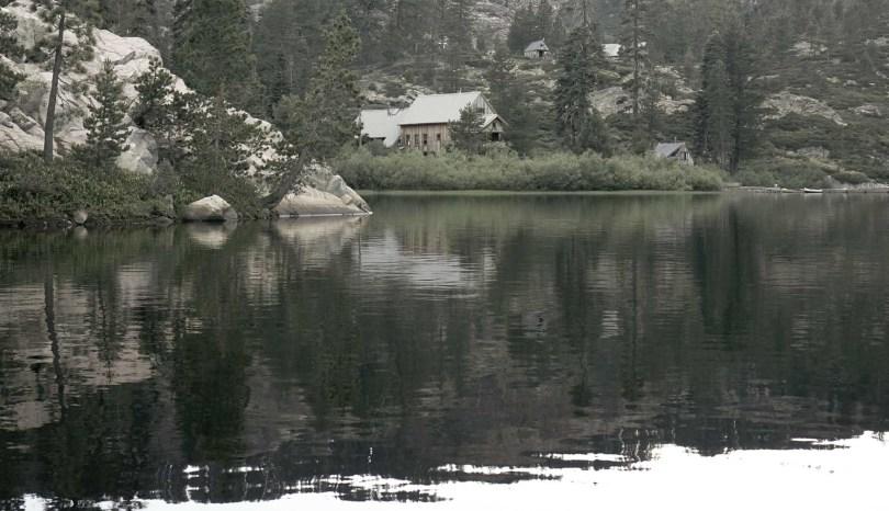 Salmon Lake California, Cabins set natural wilderness in the Sierra