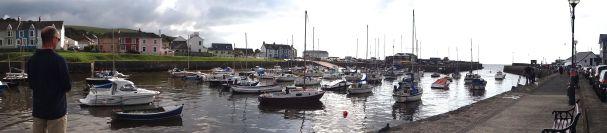 Aberaeron harbour, Ceredigion