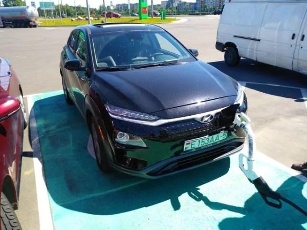 Зарядка Hyundai Kona CCS