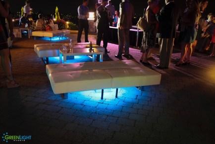 Custom Lightpad at Golf Club at Newcastle by GreenLight Events