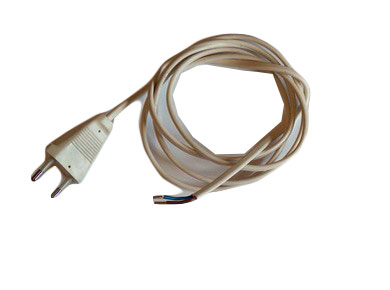 Extension Lead 2x0.75 white