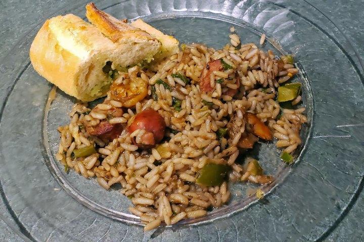 Date Night In - Shrimp and Sausage Jambalaya
