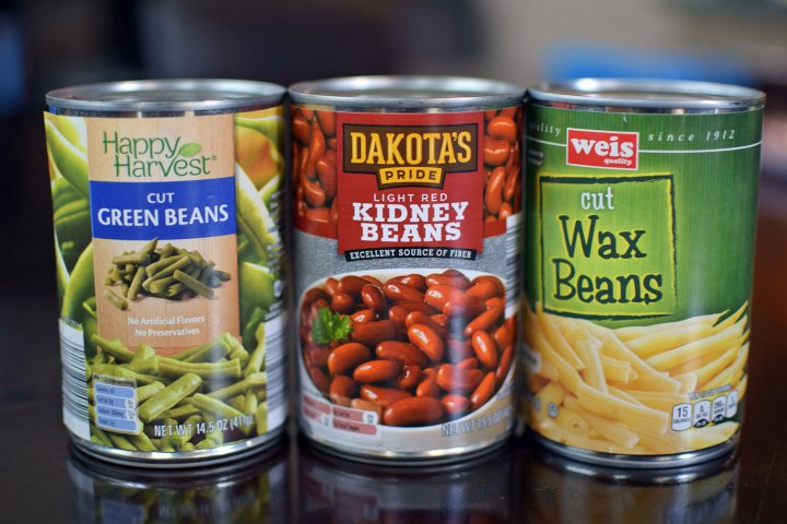 Ingredients for Fat-Free 3-Bean Salad
