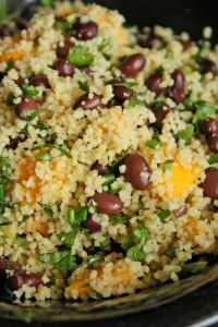 Mango, Black Bean and Couscous Salad Portrait