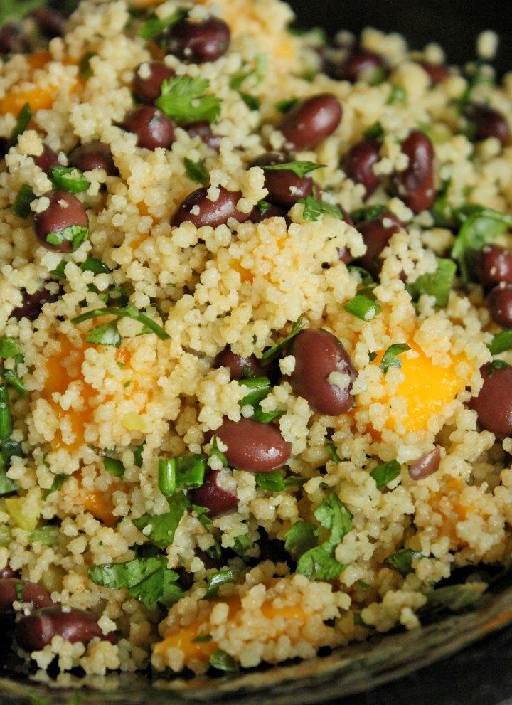 Mango, Black Bean and Couscous Salad Portrait