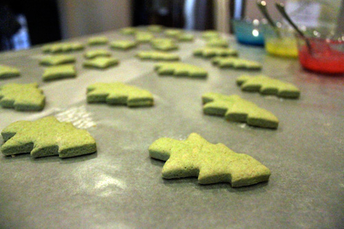 Less-Sugar Sugar Cookies - After Baking