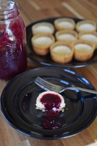 Cheesecake Muffins - Portrait