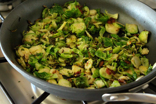 Warm Brussels Sprout and Couscous Salad - step 6