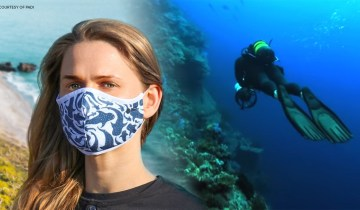 Δύτες της PADI δημιουργούν προστατευτικές μάσκες προσώπου από ανακυκλωμένα πλαστικά ωκεανού!