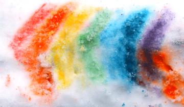 Snow Paint | Ζωγραφίζουμε στο χιόνι!
