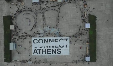 Παγκόσμιο ρεκόρ Γκίνες για το μεγαλύτερο μωσαϊκό από ανακυκλώσιμα υλικά στην Αθήνα