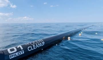 Το The Ocean CleanUp εγκατέστησε το μεγαλύτερο σύστημα καθαρισμού των ωκεανών από τα απορρίμματα!