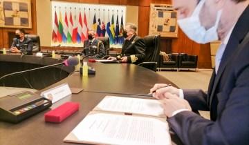 Μνημόνιο συνεργασίας μεταξύ Υπουργείου Εθνικής Άμυνας και Ecocity για την προστασία του περιβάλλοντος