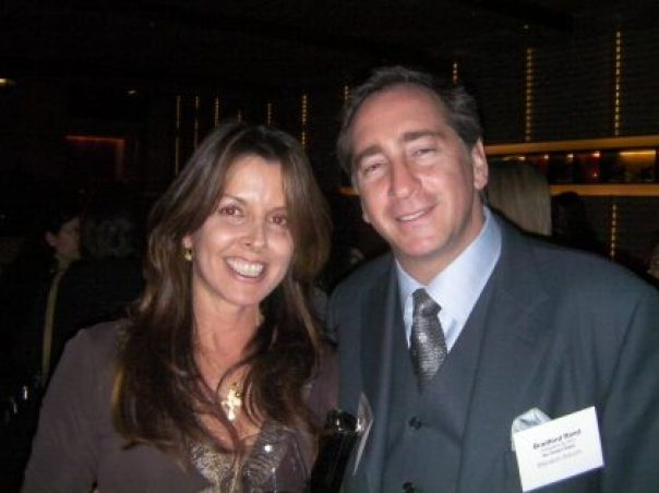 Bradford Rand, host of the Eco Forum and head of the Go Green Expo with Donna Distefano CEO / Creative Director of Donna Distefano Ltd