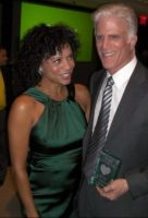 Gloria Ruben and Ted Danson