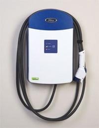 Leviton electric vehicle charging station