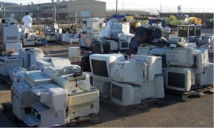 This is e-Waste sorted to not go in a landfill.  Any questions?