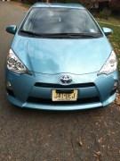 Toyota Prius C hybrid electric car