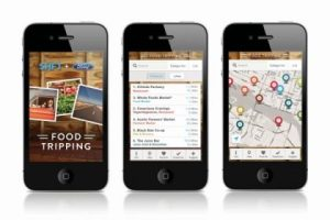 Food Tripping App by SHFT.com