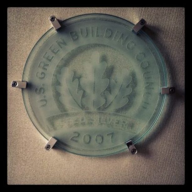 Ford Motor Company building LEED certifed