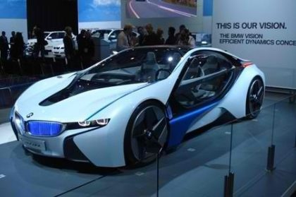 BMW i8 Plugin Hybrid Electric Car