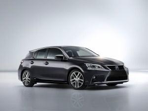 Lexus CT 200h hybrid electric car