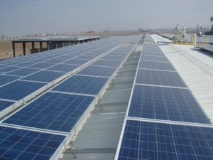 Conergy Solar Large Projects Group installs solar electric