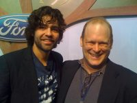Adrian Grenier with Seth Leitman, the Green Living Guy