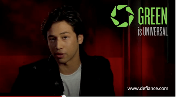 Going Green With Syfy's Jesse Rath