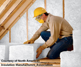 Insulation in attic is the most energy efficient