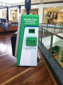 ecoATM kiosk in Jefferson Valley Mall, Cortlandt, NY