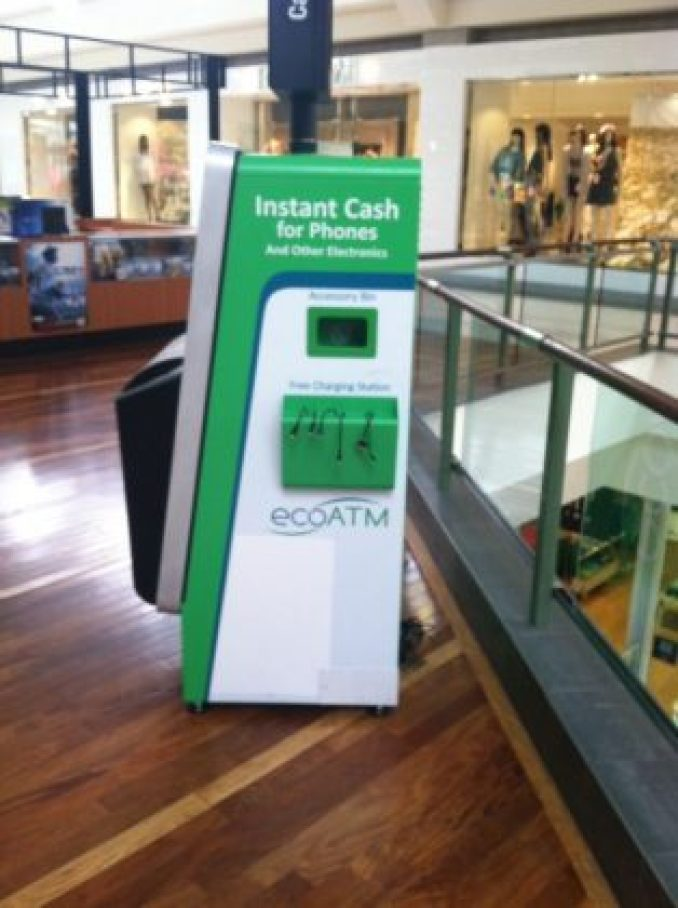ecoATM kiosk in Jefferson Valley Mall, Cortlandt, NY