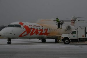 Lambert-St. Louis International Airport (STL) is the first in the United States to use a new bio-based de-icing fluid that is more environmentally friendly and more cost effective for commercial carriers.