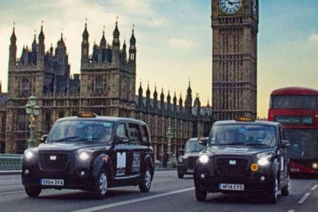 The first zero-emission taxi is being trialled in London
