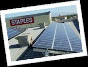Staples HQ uses solar power too