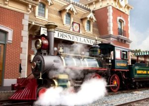 steam train at Walt Disney World powered by biodiesel