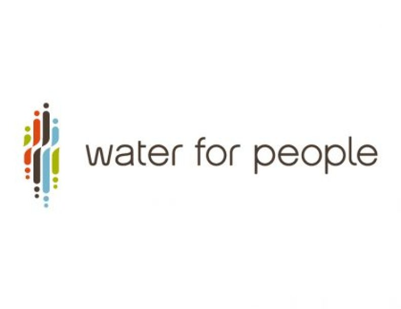 Water for People at Water for people. org and #iHeartWater
