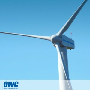 OWC Wind Turbine powers up the company. earth Day story