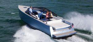 van dutch 40E electric yacht