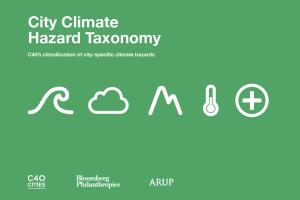 city climate hazard taxonomy