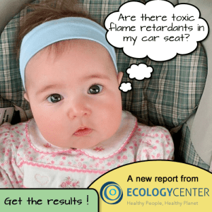 Toxic chemicals in car seats