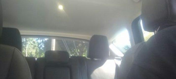 Interior of Ford C-Max Energi