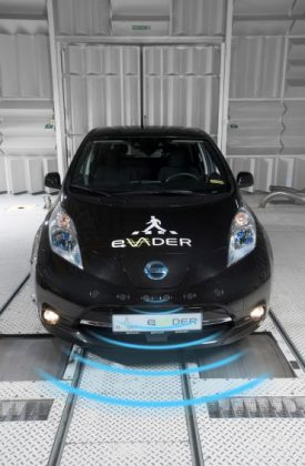 Making the right noises Nissan lends EV expertise to eVADER pedestrian alert system project