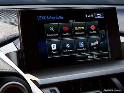 Test Results 2015 Lexus NX 300h Hybrid Electric Car app suite
