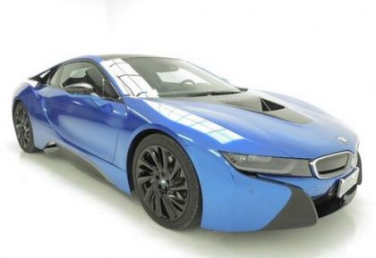 Bmw I8 Plugin Hybrid Electric Car Pimped And Ready To Buy Green