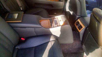 Lexus 600h Limited hybrid electric sedan