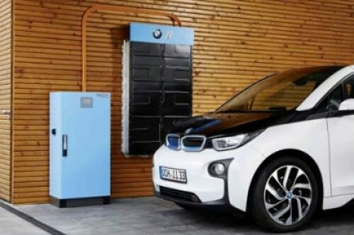 BMW i3 Electric car