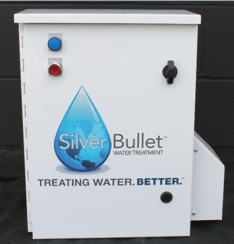 RK Water is alerting facilities owners and managers that a sustainable non-chemical solution is available for Legionella reduction. Silver Bullet which uses biocide oxidizers, known as hydroxyl radicals, effectively kills bacteria and maintains it at low and safe levels—even more effectively than chlorine. Silver Bullet can be used as a stand-alone water treatment system, or can be added to an existing treatment program.