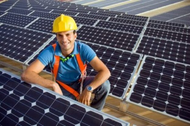 solar helps the grid