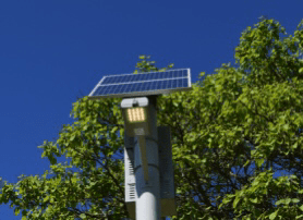 Urban Solar wins RFP to supply bus stop lighting systems for Orange County. OUTDOOR DAY PARK SHOT